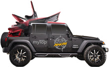 Load image into Gallery viewer, MyTop 8s Powered Soft-Top SQUARE-BACK BLACK 2dr JK (FULLY FITTED)