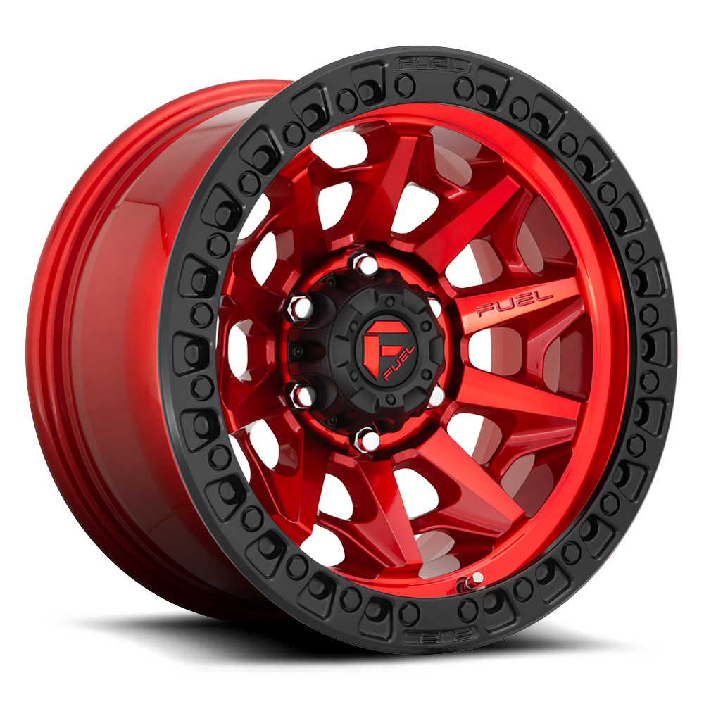 FUEL OFFROAD 'Covert' D695 - Candy Red 17