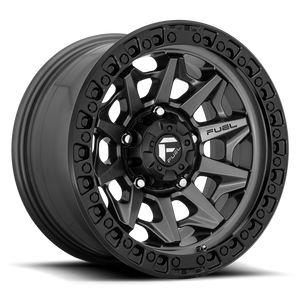 "FUEL OFFROAD 'Covert' 17"" D716 - Matte Anthracite 17"" Rims (set of 5 Jeep 5x127)"