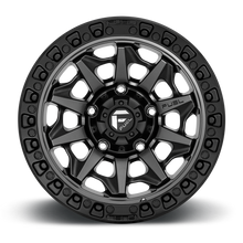 "Load image into Gallery viewer, FUEL OFFROAD 'Covert' 17"" D716 - Matte Anthracite 17"" Rims (set of 5 Jeep 5x127)"