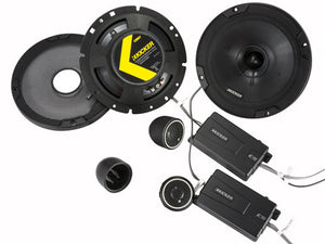 KICKER 8 Speaker CS SERIES Upgrade for Wrangler JK/JKU 2015-2020 (FULLY INSTALLED)