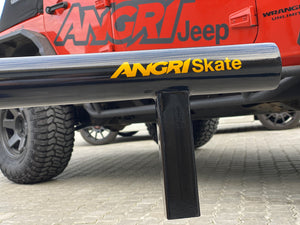 ROUND BAR 'Add-on' Rail for ANGRi Skate 3Bar Pro Skateboard Grind Rail System - 1.9m Adjustable