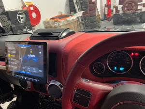 "ALPINE 'HALO 9' for Jeep (INSTALLED with HDR Reverse Cam) ILX-F903D 9"", Apple CarPlay & Android Auto"