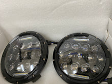 Load image into Gallery viewer, LED Headlights 'SpidersEye' with Positioning DRL, Clone for Wrangler JK/JKU/TJ (pair)