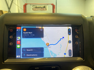 SMARTNavi 8″ Android 10 System 'Made for Jeep' (INSTALLED with REVERSE CAM) Apple CarPlay & Android Auto