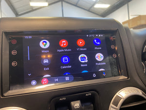 SMARTNavi 8″ Android 10 System 'Made for Jeep' (INSTALLED) Apple CarPlay & Android Auto