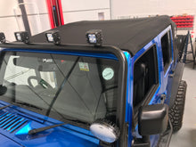 Load image into Gallery viewer, MyTop Power Soft-Top 'Fastback' Black 4dr for Wrangler JKU (Fully Fitted)