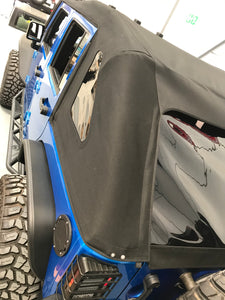 MyTop 8s Powered Soft-Top SQUARE-BACK 'CUSTOM COLOUR' 4dr JKU (FULLY FITTED)