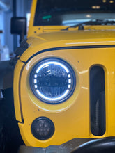 Load image into Gallery viewer, LED Headlights 'KONG JL-Style' with DRL for Wrangler JK/JKU/TJ (pair)