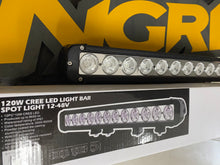 "Load image into Gallery viewer, 20"" Light Bar - 120w Single Row CREE LED"