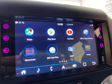 "Load image into Gallery viewer, OneNAV 8"" in-dash for Jeep (FULLY INSTALLED) - Upgraded 'Apple Car Play' Android 9 Head Unit"