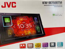 "Load image into Gallery viewer, JVC KW-M750BT Digital multimedia receiver 6.8"" Monitor 6.8 WVGA  (No CD)"