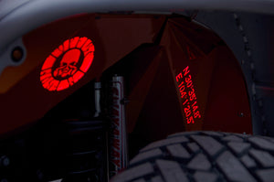Topfire Inner Fenders with Lights - Eye of Devil JK/JKU