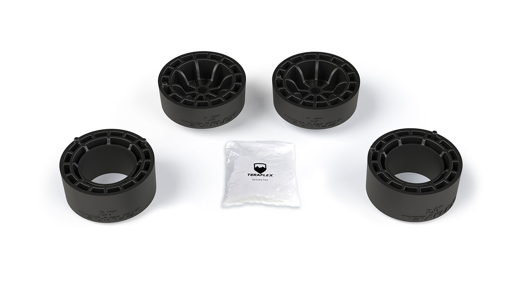 "JLU 4dr: 1.5"" Teraflex Performance Spacer Lift Kit (FULLY FITTED)"