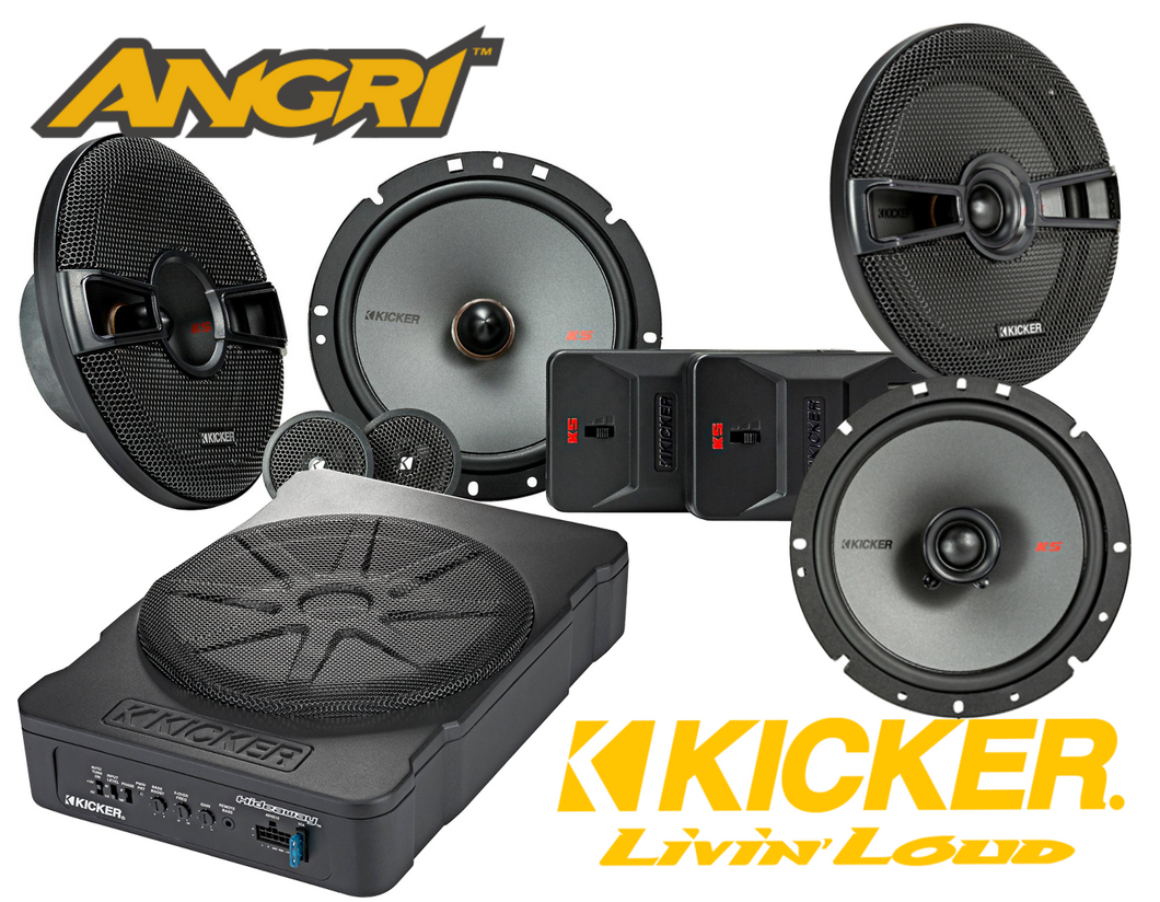 KICKER 7 Speaker KS SERIES with Active 10
