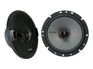 "KICKER 7 Speaker KS SERIES with Active 10"" SUB for Wrangler 07-14 (FULLY INSTALLED)"