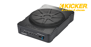 "KICKER Hideaway 10"" 180w SUBWOOFER 46HS10 for Wrangler JK/JKU/TJ/ Any"
