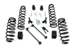 "FULLY FITTED: JK/JKU 2.5"" Teraflex COIL SYSTEM with Shock Extenders and Steering Stabiliser"