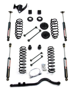 "JK/JKU 3"" Teraflex COIL System with ARMS, TRACK ROD, SHOCKS, CV (FULLY FITTED)"