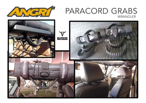 Paracord Grab Handles 6pc - by Maverick JK/JKU