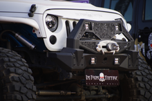 Load image into Gallery viewer, Topfire Mask Warrior Front Bumper for Wrangler JK/JKU