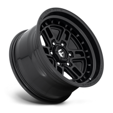 "Load image into Gallery viewer, FUEL OFFROAD 'NITRO' 17"" D667 - Satin Black 17"" Rims (set of 5 Jeep 5/127) JK"