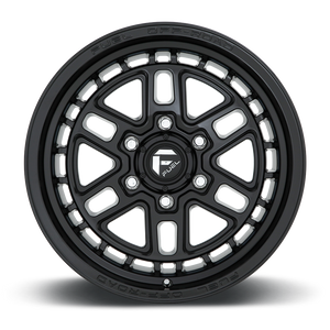 "FUEL OFFROAD 'NITRO' 17"" D667 - Satin Black 17"" Rims (set of 5 Jeep 5/127) JK"
