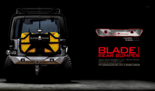 Load image into Gallery viewer, Topfire Blade I Rear Bumper (Mid) JK/JKU