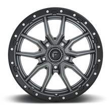 "Load image into Gallery viewer, FUEL OFFROAD 'Rebel' 17"" D680 - Matt Anthracite 17"" Rims (set of 5 Jeep 5x127)"