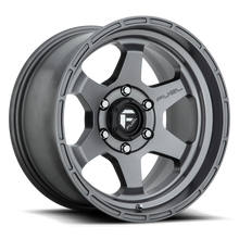 "Load image into Gallery viewer, FUEL OFFROAD 'Shok' 17"" D665 - Matt Anthracite 17"" Rims (set of 5 Jeep 5x127)"