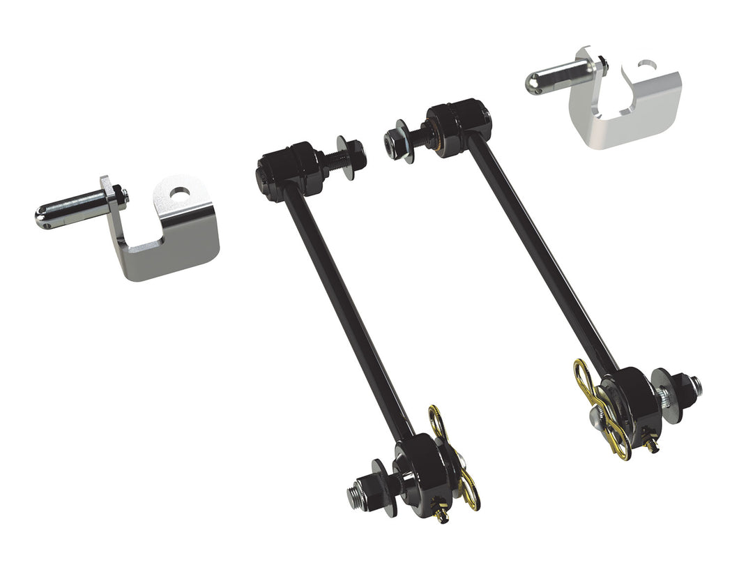 "Teraflex Front Sway Bar Quick Disconnect Kit (0-2.5"" Lift) JK/JKU"