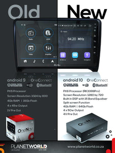 OneNAV (NEW!) 10 inch for Jeep (RETAIL BOX) - 'Apple Car Play' Android 10 Head Unit