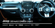 Load image into Gallery viewer, OneNAV (NEW!) 10 inch for Jeep (FULLY INSTALLED with REVERSE CAM) - 'Apple Car Play' Android 10 Head Unit