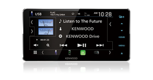 Kenwood DNX5180SM AV Garmin Maps Navigation System with 6.8inch WVGA Clear-coated Resistive Display