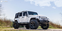 "Load image into Gallery viewer, FUEL OFFROAD 'Beast' 20"" D564 - Black/Dark 20"" Rims (set of 5 Jeep 5x127)"