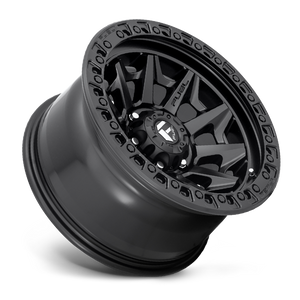 "FUEL OFFROAD 'Covert' 17"" D694 - Matte Black 17"" Rims (set of 5 Jeep 5x127)"