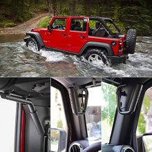 Load image into Gallery viewer, GRAB Handles - 'D' Type Steel for Wrangler JK/JKU