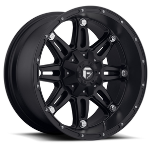 "FUEL OFFROAD 'Hostage' 17"" D531 (PRE-ORDER TO SECURE)- Matt Black 17"" Rims (set of 5 Jeep 5x127/114)"