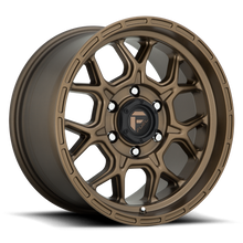 "Load image into Gallery viewer, FUEL OFFROAD 'TECH' Rims for Hilux / Ranger 18"" D671 - Matt Bronze (1890 6/139.7 -0 set of 4)"