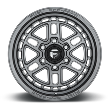 "Load image into Gallery viewer, FUEL OFFROAD 'NITRO' 17"" D668 - Satin Anthracite 17"" Rims (set of 5 Jeep 5/127) JK"