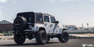 "FUEL OFFROAD 'Beast' 20"" D564 (PRE-ORDER TO SECURE) - Black/Dark 20"" Rims (set of 5 Jeep 5x127)"