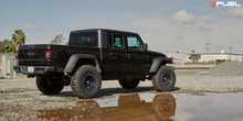 "Load image into Gallery viewer, FUEL OFFROAD 'Covert' 17"" D694 - Matte Black 17"" Rims (set of 5 Jeep 5x127)"