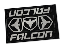 "Load image into Gallery viewer, Falcon Performance Shocks Sticker Sheet – 6"" X 8"""
