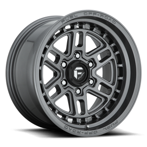 "FUEL OFFROAD 'NITRO' 17"" D668 - Satin Anthracite 17"" Rims (set of 5 Jeep 5/127) JK"