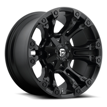 "Load image into Gallery viewer, FUEL OFFROAD 'Vapor' 20"" D560 - Matt Black 20"" Rims (set of 5 Jeep 5x127/114)"