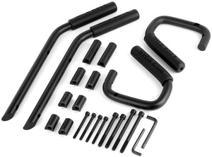 GRAB Handles - 'D' Type Steel for Wrangler JK/JKU