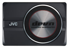 "Load image into Gallery viewer, JVC CW-DRA8 DRVN 20cm (8"") Compact Powered SubWoofer"