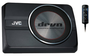 "JVC CW-DRA8 DRVN 20cm (8"") Compact Powered SubWoofer"