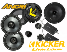 Load image into Gallery viewer, KICKER 6 Speaker CS SERIES Upgrade for Wrangler JK/JKU 07-2014 (DIY RETAIL BOXED)