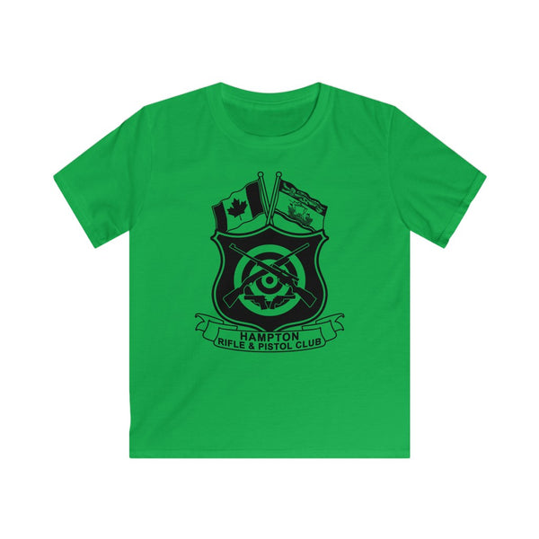 Hampton Rifle & Pistol Club - Kids (Outline with shirt color background)